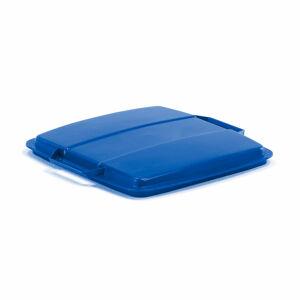 Víko na odpadkový koš Oliver 90 l, modré