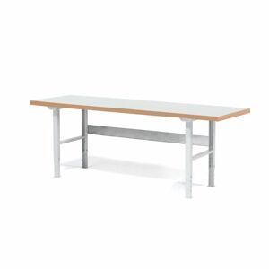 Dílenský stůl Solid 500, 2500x800 mm, laminátová deska