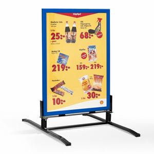 Reklamní stojan, 700x1000 mm, modrá