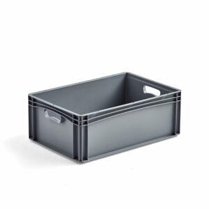 Plastová přepravka AJ Euro, 44 l, 600x400x220 mm