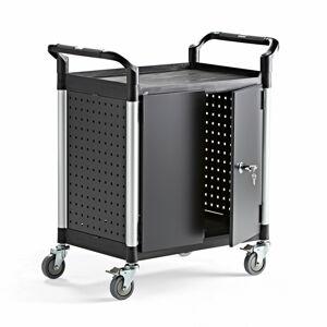 Vozík na nářadí Move, se skříňkou, 850x480x950 mm
