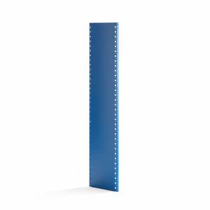 Uzavřený rám k regálu Mix, 1740x400 mm, modrý, 1 ks