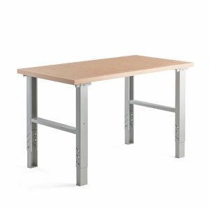 Dílenský stůl 300, 1500x800 mm, tvrzená deska