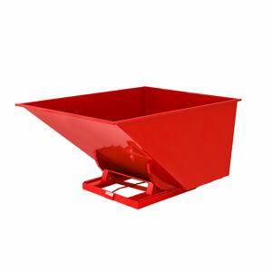 Výklopný kontejner Spectra, 2000 l, červený