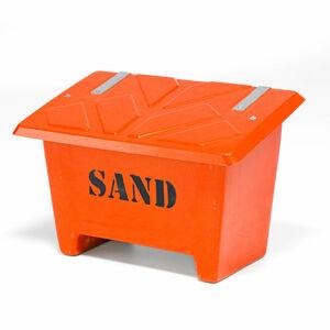 Nádoba na posypový materiál, 250 l, oranžová