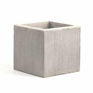 Betonový květináč, 600x600 mm, šedý