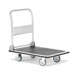 Plošinový vozík Zoom, se sklopnou rukojetí, 300 kg, 910x610 mm