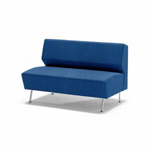 Dvoumístná pohovka Alex, tkanina Medley, blankytně modrá