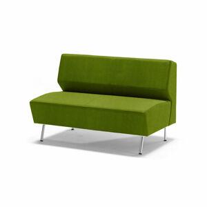 Dvoumístná pohovka Alex, tkanina Medley, limetkově zelená