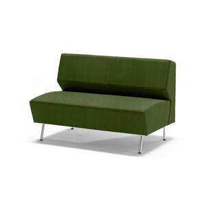Dvoumístná pohovka Alex, tkanina Medley, mechově zelená