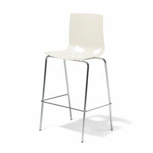 Barová židle Juno, bílá