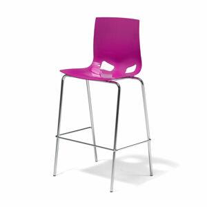 Barová židle Juno, purpurová
