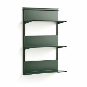 Nástěnný regál Shape, 1237x805x300 mm, zelený