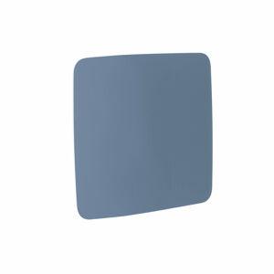 Skleněná tabule, kulaté rohy, 1000x1000 mm, pastelově modrá