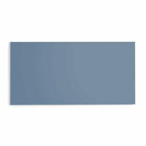 Skleněná magnetická tabule, 2000x1000 mm, pastelově modrá