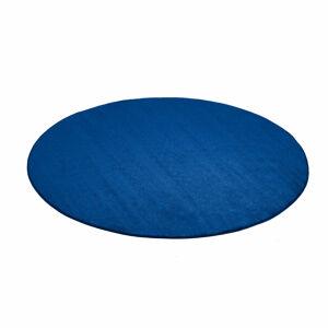 Kulatý koberec Kalle, Ø1500 mm, modrý