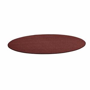 Kulatý koberec Adam, Ø 3500 mm, červený
