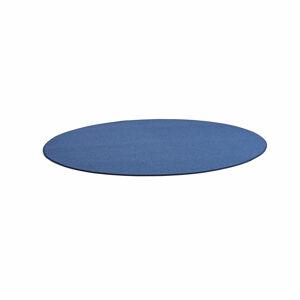 Kulatý koberec Adam, Ø 3000 mm, modrá