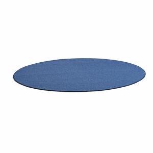 Kulatý koberec Adam, Ø 3500 mm, modrá