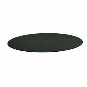 Kulatý koberec Adam, Ø 3500 mm, tmavě zelená
