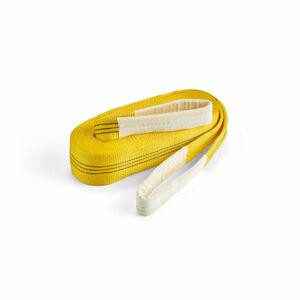 Zvedací pás, nosnost 3000 kg, délka 6000 mm, žlutý
