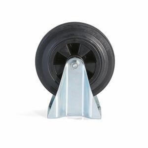 Pevné kolo, 200x50 mm, 200 kg, plné gumové