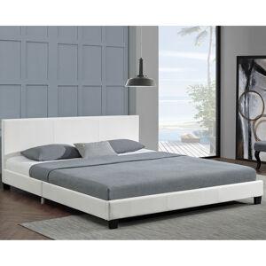 """Čalouněná postel,, Barcelona """"160 x 200 cm - bílá"""