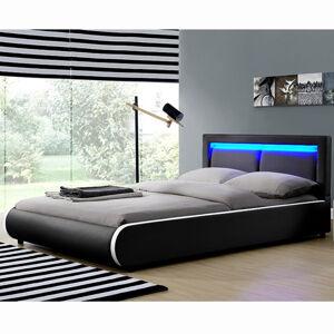"""Čalouněná postel,, Murcia """"140 x 200 cm - černá"""