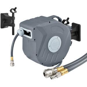 Kompressor na vzduch s automatickým tlakem 3/8 a 20m hadicí s možností montáže na stěnu