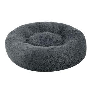 Pelech Monty kulatý 50 cm tmavě šedá