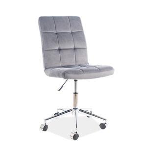 Kancelářská židle Q-020 sivá bluvel 14