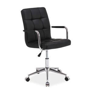 Kancelářská židle Q-022 černá bluvel 19