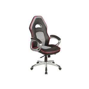 Kancelářská židle Q-055 černá/šedá