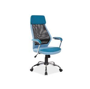 Kancelářská židle Q-336 modrá
