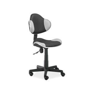 Kancelářská židle Q-G2 šedo/černá