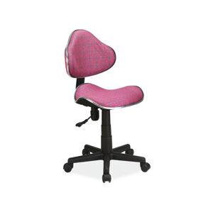 Kancelářská židle Q-G2 vzor růže