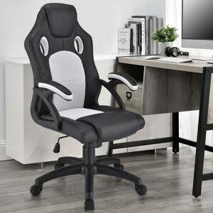 Kolečková kancelářská židle  Montreal (bílá)
